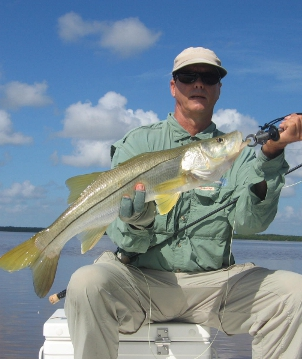 Everglades snook on fly miami fly fishing for Fly fishing miami