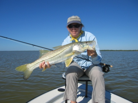 Miami Fly Fishing Guide Capt. Dave Hunt - Snook on Fly
