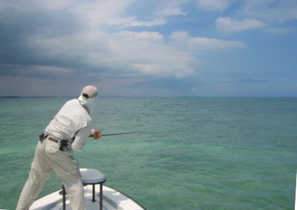 Miami Fly Fishing: Capt. Dave Hunt - oceanside fly fishing for big tarpon